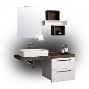 Мебели за баня от PVC и MDF