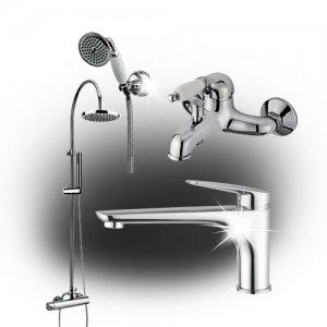 Смесителни батерии и душове за баня