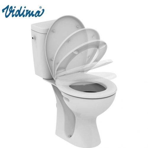 wc komplekt toaletna seva fresh soft close kapak
