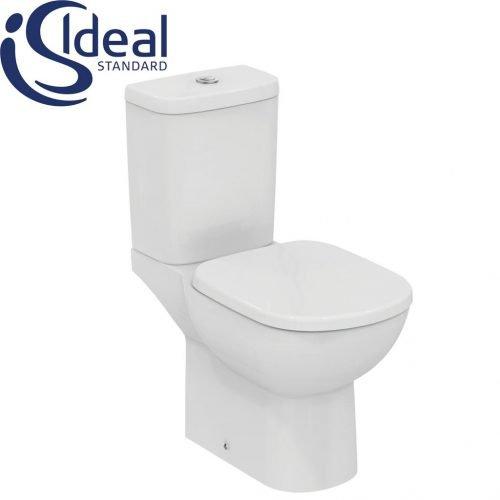 toaletna monoblok s horizontalno ottichane tempo