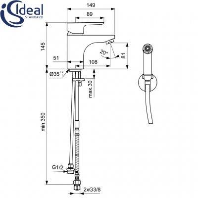 Ideal Standard - Ceraplan III